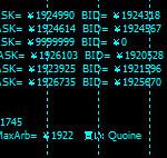MT4のチャート上に複数の仮想通貨取引所のビットコインレートを表示するやり方