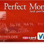 Perfect Money(電子ウォレット)でVISA/Materデビットカード