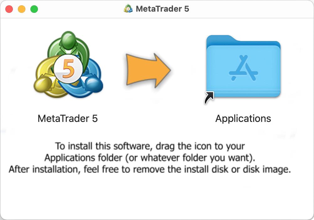 Installing  MetaTrader 5 in MacOS
