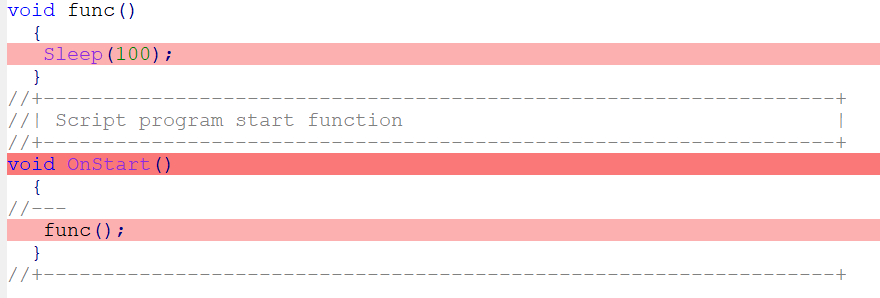 The inline function call place is now highlighted
